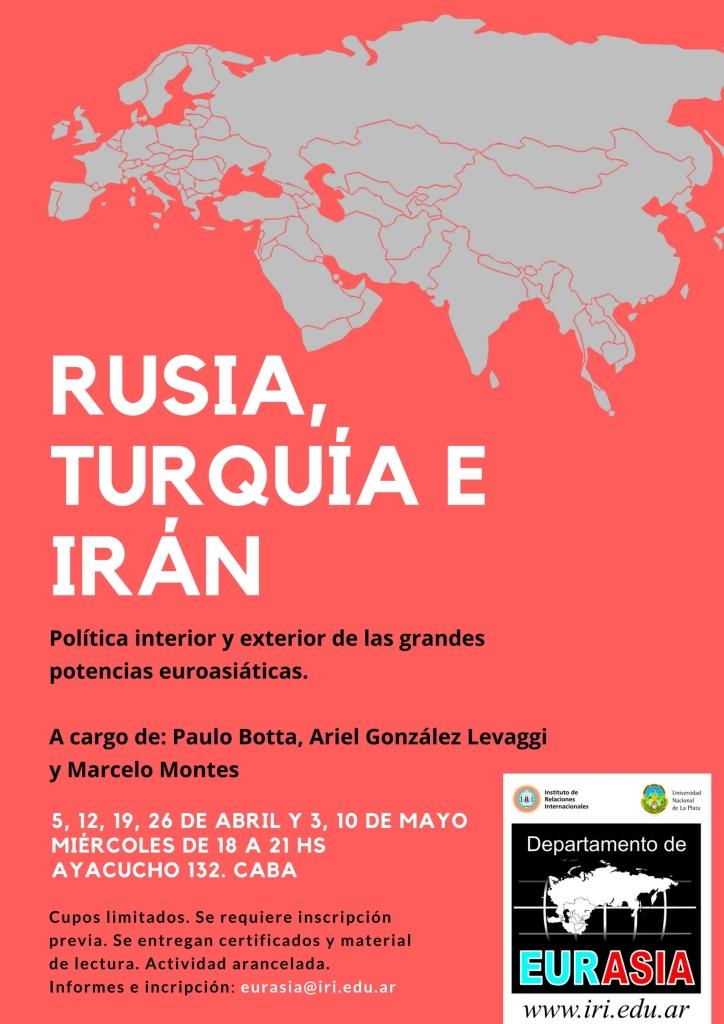 Curso Eurasia 2017